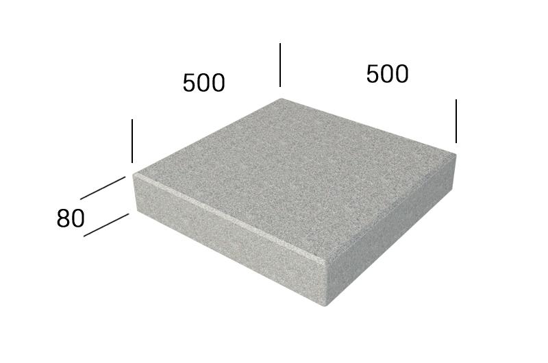 Klasika 500x500x80